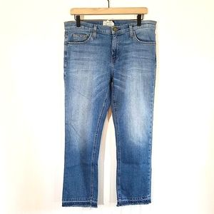Current Elliot Cropped Straight Jean Relaxed 30